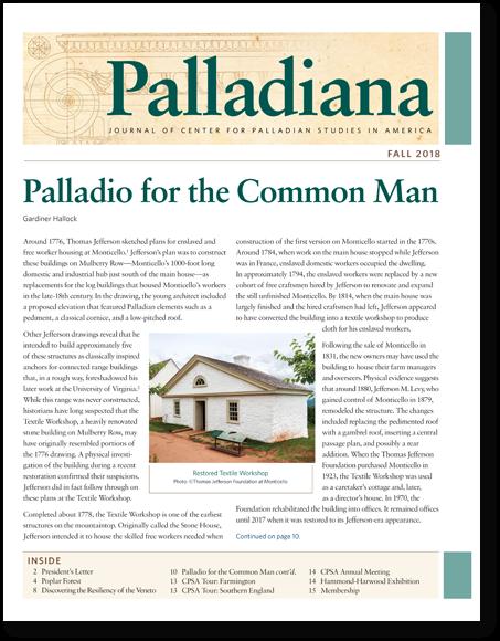 Palladiana Fall 2018