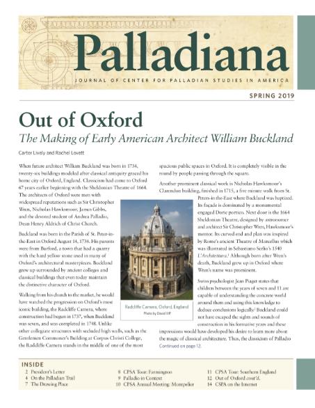 Palladiana Spring 2019