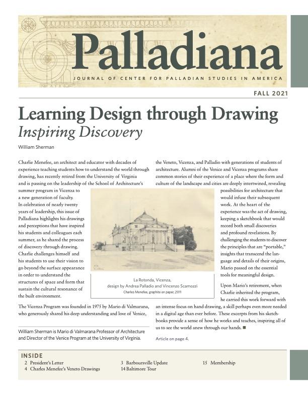 Palladiana Fall 2019